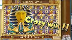 BIG WIN!!!! Book Of Dead - Casino Games - bonus round (Casino Slots)