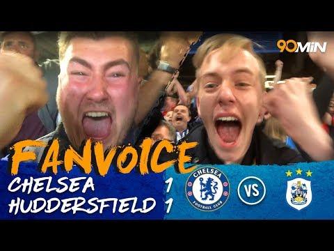 Depoitre & Alonso goals mean Huddersfield stay up! | Chelsea 1-1 Huddersfield | 90min FanVoice