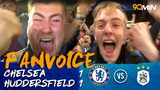 Depoitre & Alonso goals mean Huddersfield stay up! | Chelsea 1-1 Huddersfield | 90min FanVoice
