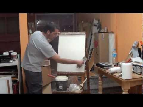 Aplicaci n de efecto granito v deo 2011 arte osaka for Como se hace el marmol