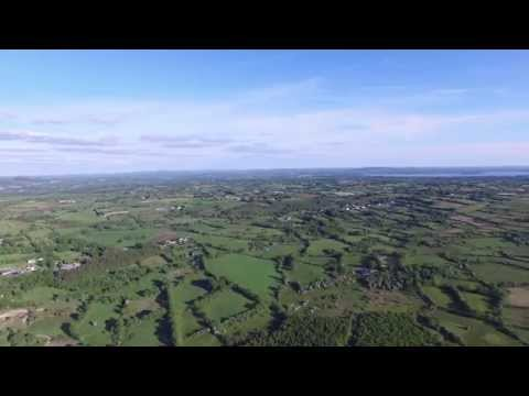 Phantom 3 Drone View of Cavan, Ireland