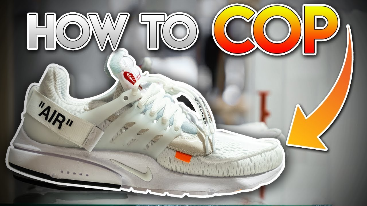 5f395b29761 How To Cop The OFF WHITE x Nike Presto
