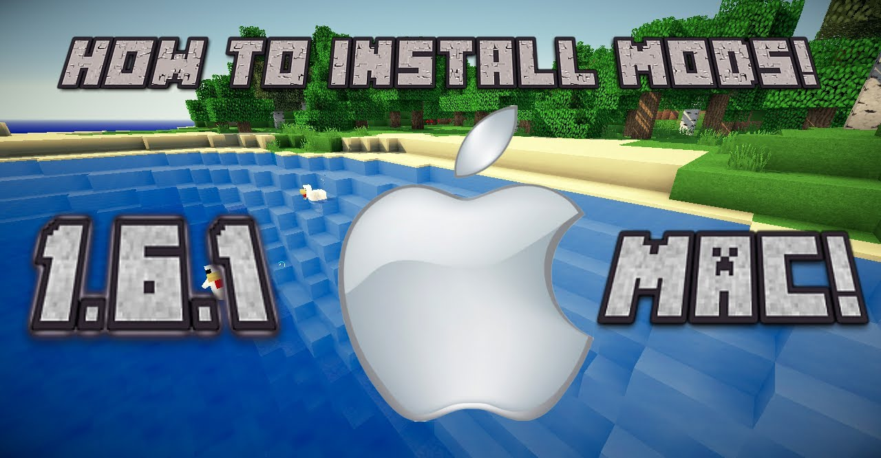 how to install minecraft 1.6.1 launcher mac