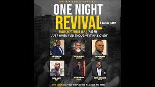 Live Church - One Night Revival (6 man tag team) - September 18, 2020