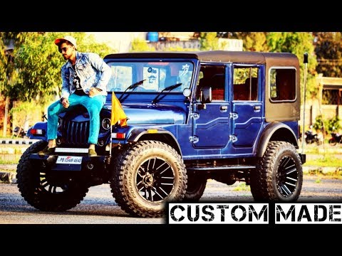 MOST CUSTOM JEEP WITH 4 DOORS | HUGE WHEELS | DOUBLE TURBO | SUPER POWER