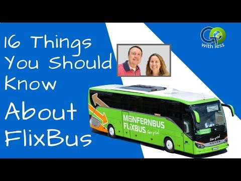 16 Things You Should Know About FlixBus in Europe