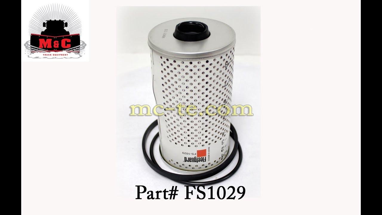 Fleetguard Fuel  Water Separator Filter Fs1029w