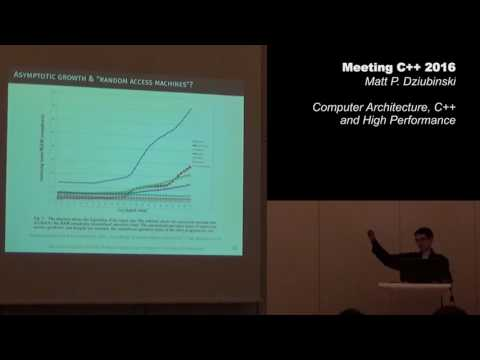 Computer Architecture, C++, and High Performance - Matt P. Dziubinski - Meeting C++ 2016