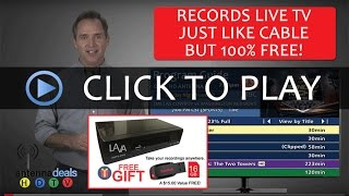 LAVA DVR HD Video Recorder Converter Box (Records TV in HD for FREE!)