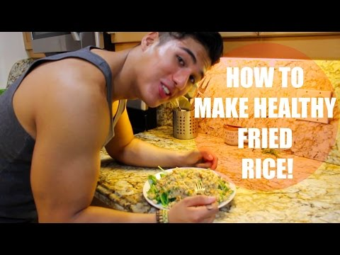 HOW TO COOK HEALTHY FRIED RICE | MARTIN BARBOZA |