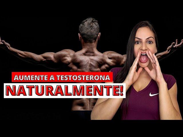 O que comer para aumentar a TESTOSTERONA de forma natural? + BÔNUS AO FINAL! Nutri Giovana Guido
