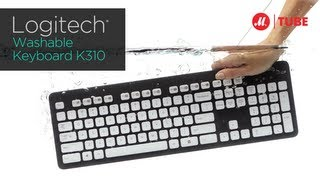 Клавиатура Logitech Washable Keyboard K310(Подробнее на http://www.mvideo.ru/products/klaviatura-provodnaya-logitech-k310.html?reff=video_youtube_logitech Создана, чтобы выглядеть и работать., 2013-01-30T14:04:23.000Z)