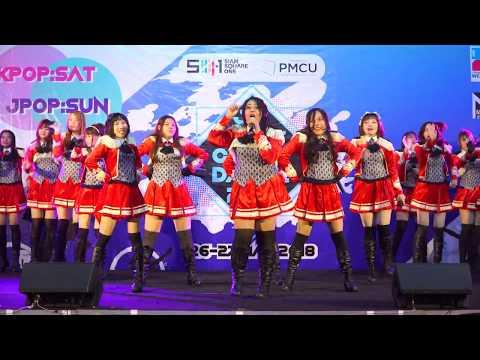 180527 'Kiyomi♥Shoujo' cover 'Intro+ギラギラRevolution+赤い情熱+女子力←パラダイス'(SUPER☆GiRLS) @ SIAM SQUARE 1