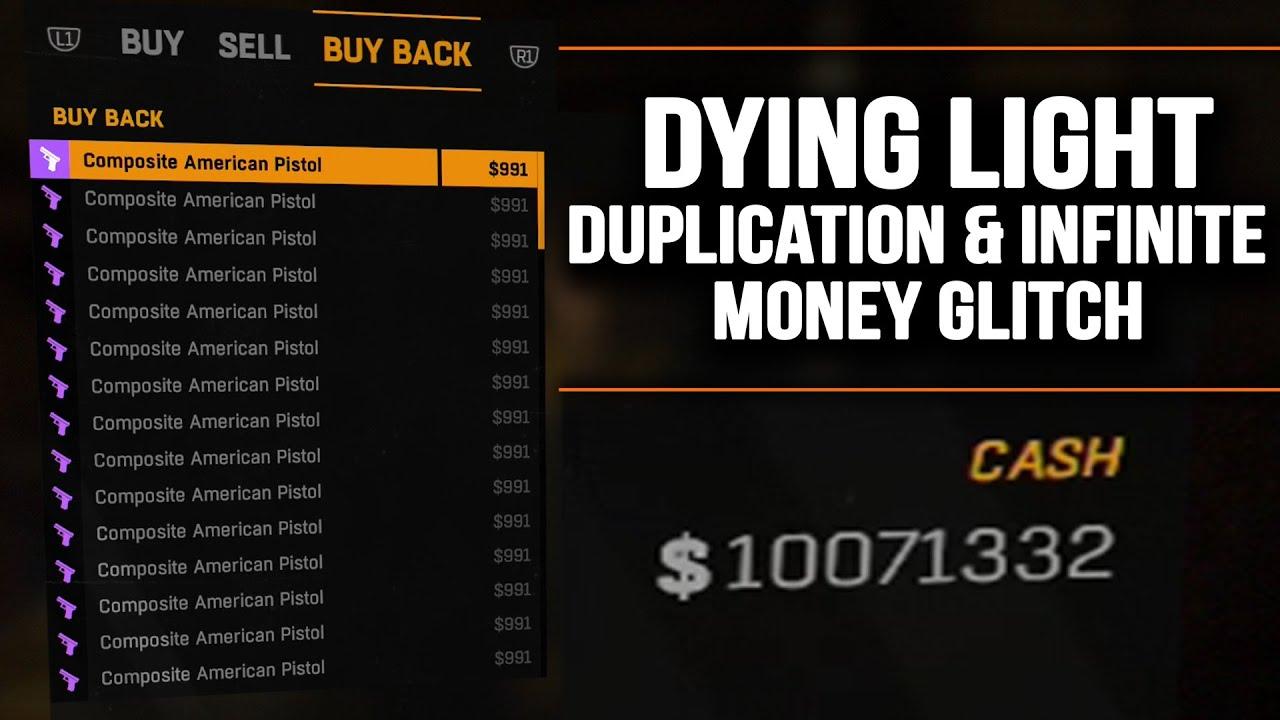 dying light money glitch xbox one