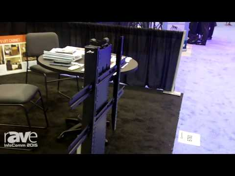 InfoComm 2015: Touchstone Showcases Whisper Lift TV Lift