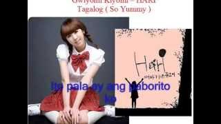 Kiyomi song - tagalog version with Lyrics ( So Yummy ) by Mamang Pulis NEW