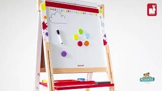 Dřevěná školní tabule Graffiti Splash magnetická,
