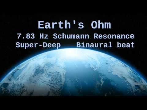 Earth's Ohm, 7.83 Hz Deep Theta Binaural Beat ( Schumann Resonance for 1 Hour )