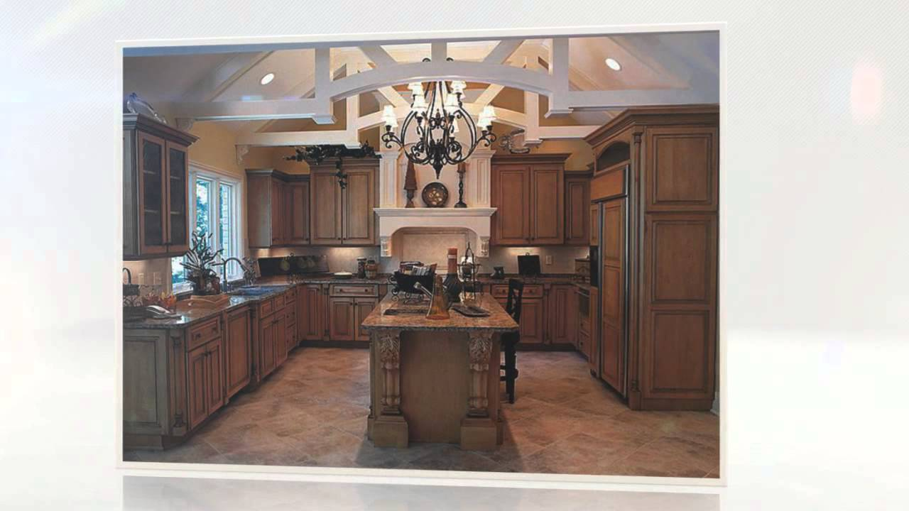 Traditional Kitchen Cabinets for Exquisite Kitchen Designs - YouTube