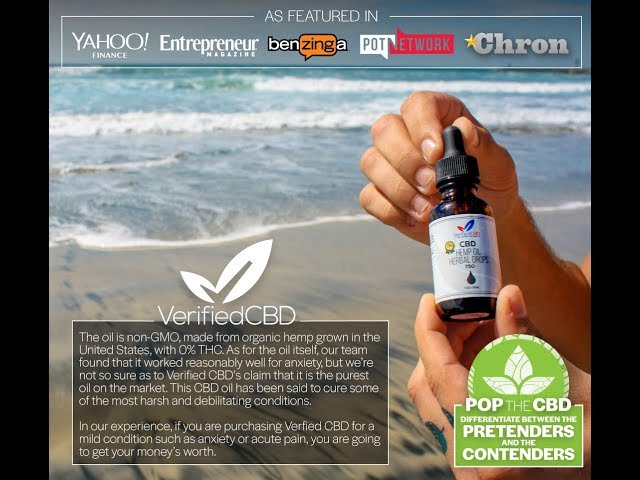 Verified CBD Oil - 90 second