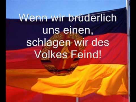 Deutsche Demokratische Republik- DDR- (East Germany) Anthem (with lyrics) by Jaimina Johnston