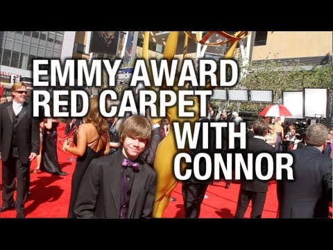 64th EMMY and 1st CONNOR Awards RED CARPET 2012 with Connor Kid On Vacation