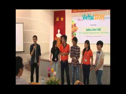 [VIETTELSTUDY] Tọa đàm Bản lĩnh trẻ - Diễn giả Nguyễn Hoàng Khắc Hiếu - Part 2