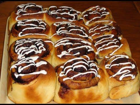 Булочки «Синабон» с шоколадом: фото и рецепт приготовления