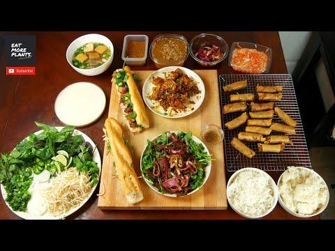 How To Cook A VIETNAMESE FEAST 🔥 VEGAN