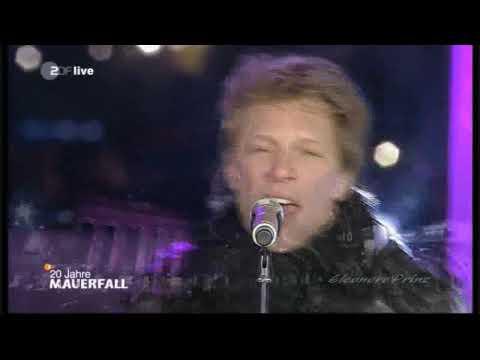 Bon Jovi - We Weren't Born To Follow (Live Berlin Brandenburger Tor)