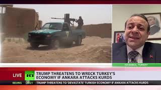 Frenemies be like... Trump threatens to 'devastate' Turkish economy if Ankara attacks Kurds