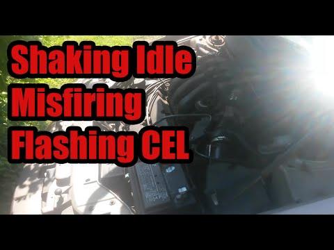 Shaking Idle, Flashing CEL, Misfiring : 02 Mercury Sable