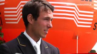 SHT 2013   Felix VOGG  Dressage Interview