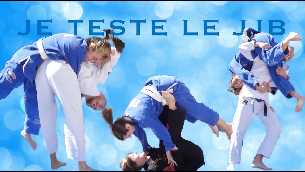 """""""JE TESTE """" Le Jujitsu Brésilien - LOU COMMENT"""