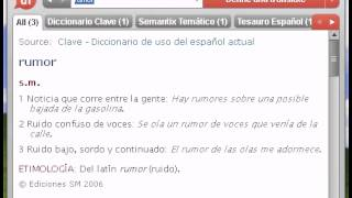 Definición de rumor