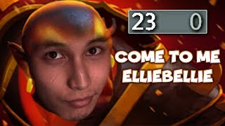 COME TO ME ELLIE - SingSing Dota 2 Highlights