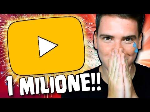 YOUTUBE ITALIA MI FA UNA SORPRESA PER 1 MILIONE DI ISCRITTI... [SPECIALE 1 Milione di Iscritti]