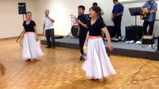 Oleh darah Anak Domba - tambourine dance