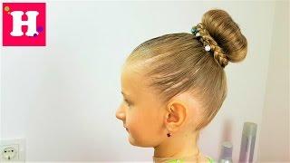 Смотреть видео как собрать волосы на затылке