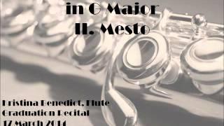 Quantz Flute Concerto in G Major - Mesto