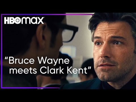 Bruce Wayne Meets Clark Kent at Lex Luthor's Party |Download Batman v Superman| HBO Max