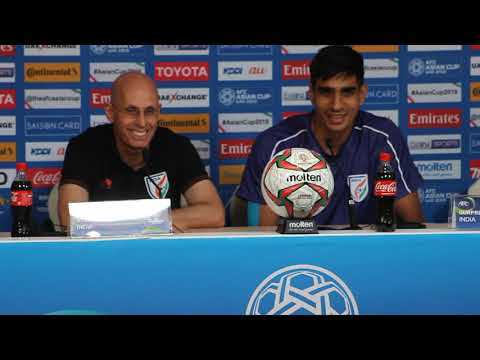 Asian Cup 2019 - Gurpreet Singh Sandhu and Stephen Constantine speak ahead of India vs Thailand