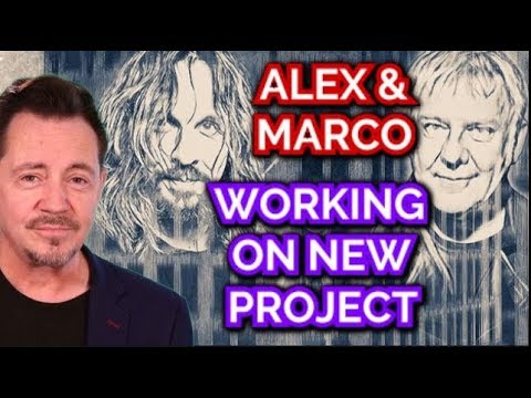 Alex Lifeson of Rush & Drummer Marco Minnemann Working On New Project