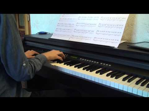 Teenage Dream - Glee Acoustic Version (Piano Cover)