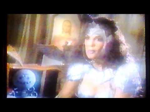The CHUPACABRA(Blood Sucker) battles B-actress Julie Strain on tv show