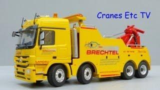 Conrad Brechtel Masterlift + Mercedes-Benz Actros Recovery Truck Review