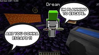 dream REVEALS his ESCAPE PLAN from the PRISON.. (dream smp)