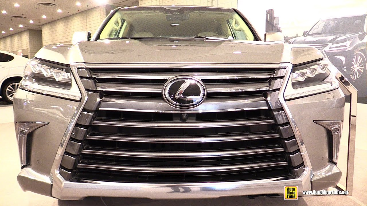 2016 Lexus LX570 Exterior and Interior Walkaround 2016 New