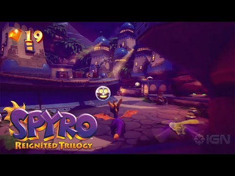 Spyro Reignited Trilogy | Breeze Harbor Gameplay & Analysis + Professor, Agent 9 & Elora Cutscene