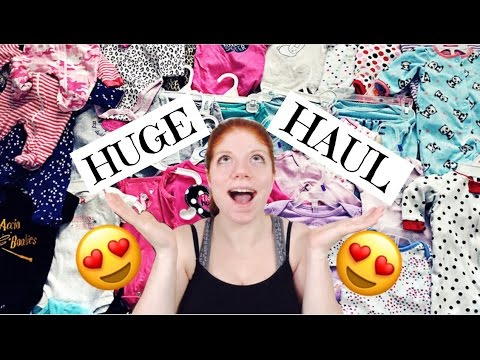 HUGE BABY GIRL HAUL